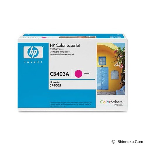 HP Magenta Toner 642A [CB403A] - Toner Printer Hp